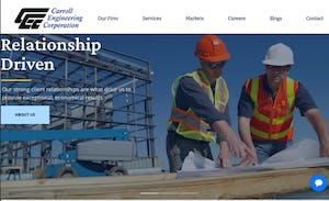 engineering website example